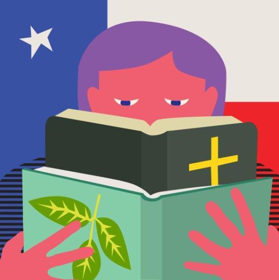 Um grupo de escola charter Texas tem um verniz secular e é financiado pelo dinheiro público, mas foi ligado desde o seu início com o movimento criacionista.