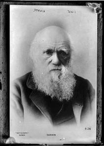 Charles Darwin, por volta de 1870.
