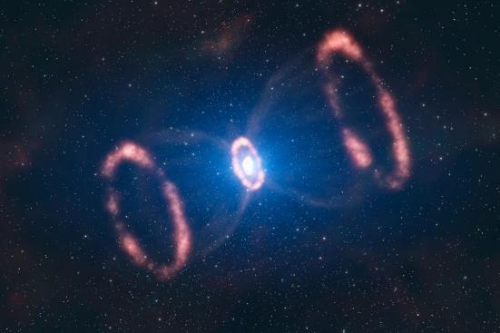 A SuperNova 1987A (Foto: ESO/L. Calçada) Clique para ampliar