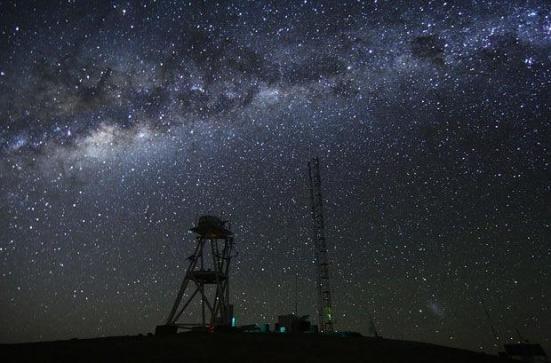 Observatório no deserto do Atacama (Chile)