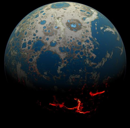 A Terra Hadeana