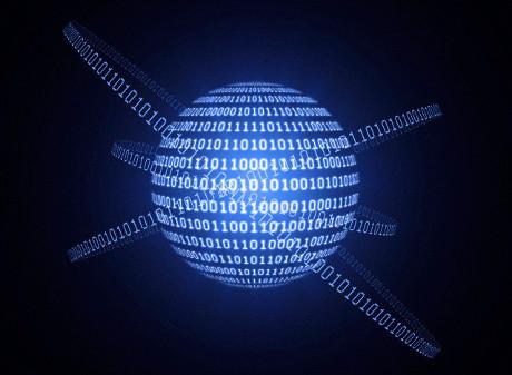Representação binária de informação codificada por um átomo: as leis da mecânica quântica permite que, em princípio, para aumentar significativamente o desempenho de cálculo automático (© ANDRZEJ Wojcicki / Science Photo Library / Corbis)