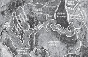 Grand Canyon visto por satélite