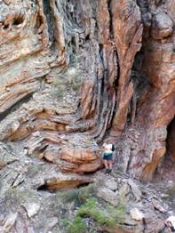 Fold rocks do Grand Canyon