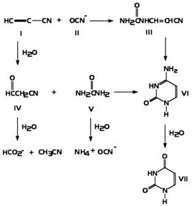 Síntese abiótica de citosina