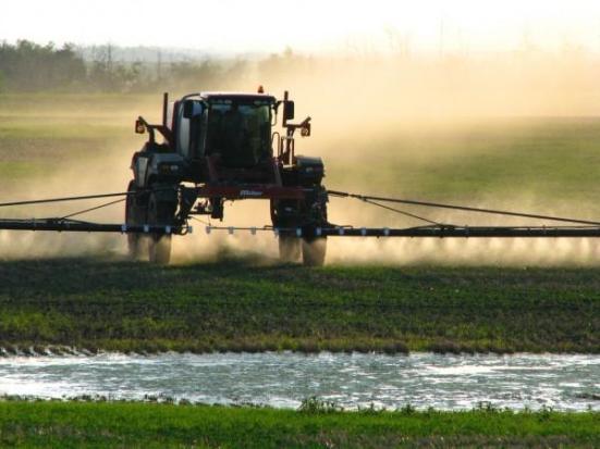 O glifosato é um dos herbicidas mais utilizados do mundo. Tamina Miller, Creative Commons