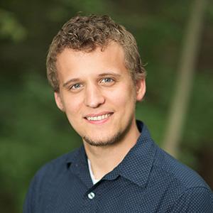 Brad Kramer. Foto da BioLogos.