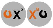 No esquema da esquerda, o alelo de marrom esta inativado. No esquema da direita, o alelo preto é inativado.