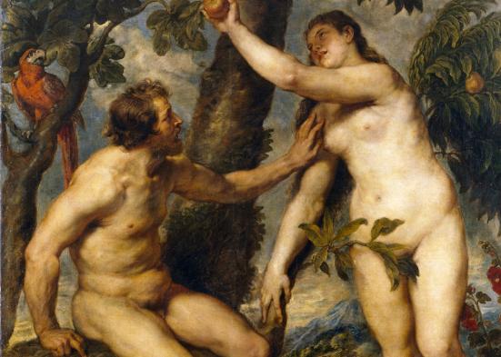 Adão e Eva. Museo del Prado/Wikimedia Commons.