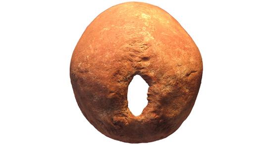 RITUAL cortar uma caveira humana quase 6.000 anos de idade do sul da Rússia contém uma grande abertura na parte de trás da cabeça criado por cortando osso com um instrumento afiado. Os investigadores suspeitam que muitas cirurgias crânio no sul da Rússia naquela época foram realizados por razões rituais, não médica,