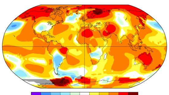 Maio bateu o record de mês mais quente.