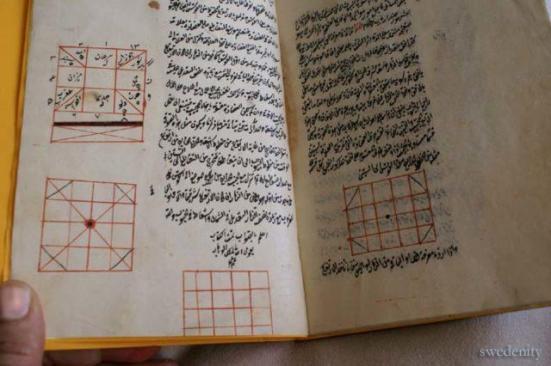 Um Tratado sobre Astrolabe por Tusi, Isfahan 1505. Fonte por Danieliness
