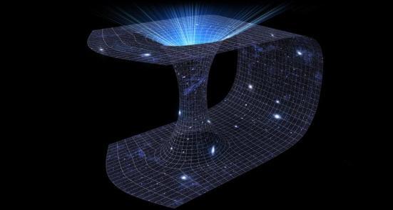 Os buracos de minhoca, túneis através do tecido do espaço-tempo que se conectam locais muito distantes, são previstos pela teoria da relatividade geral de Einstein. Alguns físicos pensam que os buracos de minhoca poderia ligar buracos negros no espaço, possivelmente fornecendo uma pista para os mistérios do entrelaçamento quântico e como fundir a relatividade geral com a mecânica quântica. Stockernumber2 / Shutterstock
