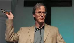 William Dembski - Membro do Discovery Institute, aqui, pregando sobre o Design inteligente em uma igreja no Texas.
