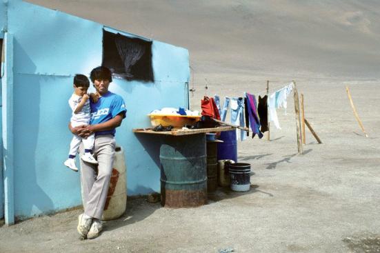 Um ambiente difícil estimula a mudança. Puka Janluka/Alamy Foto De Stock.